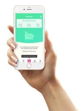 Baribuddy, app för överviktsopererade