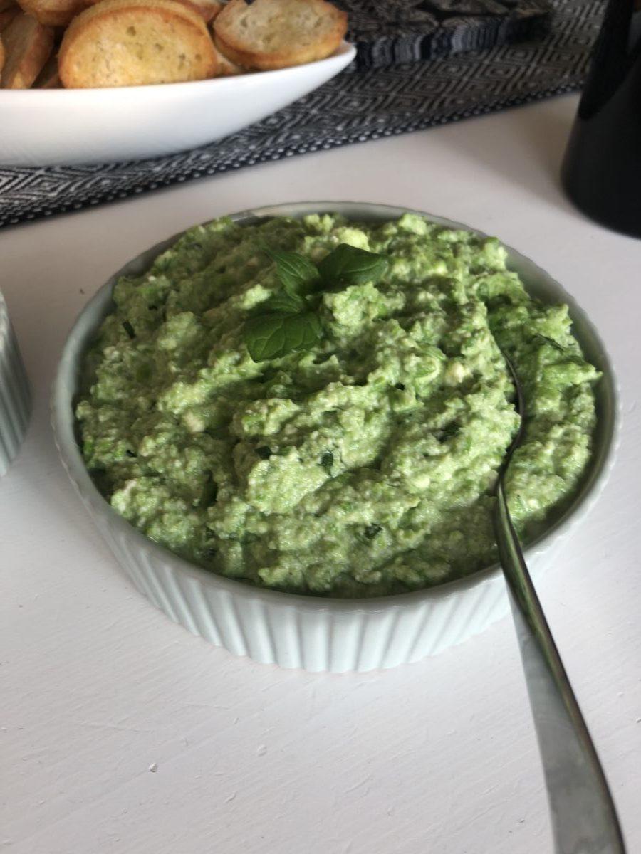 Grym grön dip