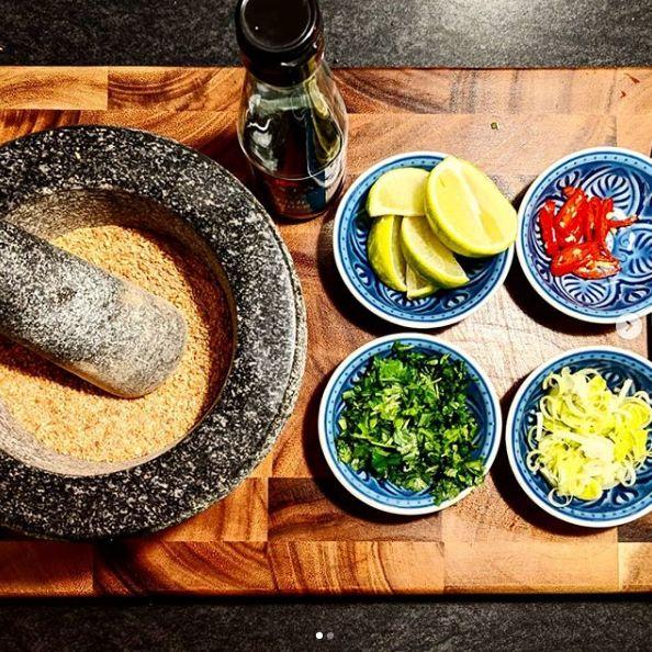 Recept – Laab Gai