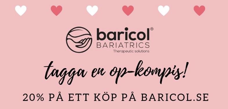 Valentine erbjudande på vitaminer från Baricol Complete