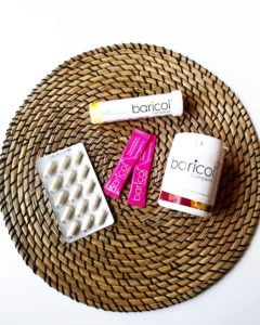 Baricols olika produkter