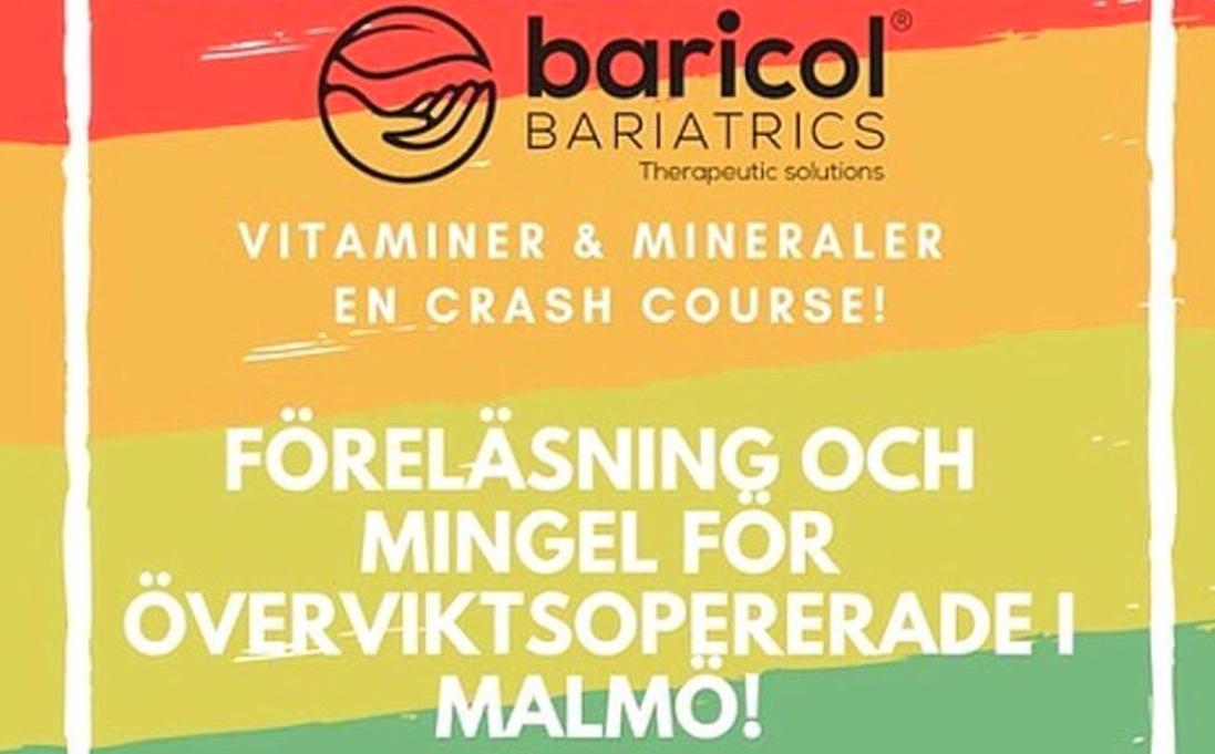 Föreläsning och mingel för överviktsopererade i Malmö