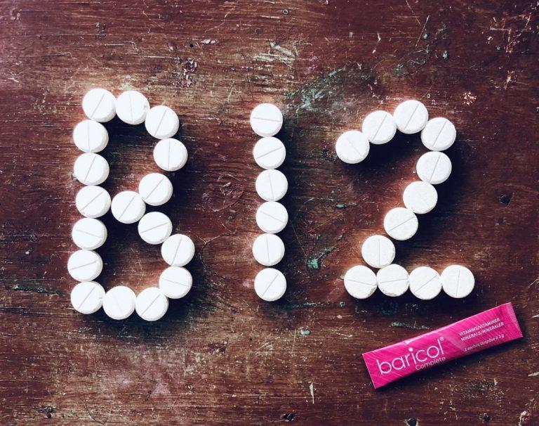 B12 vitamintabletter i formation av B12