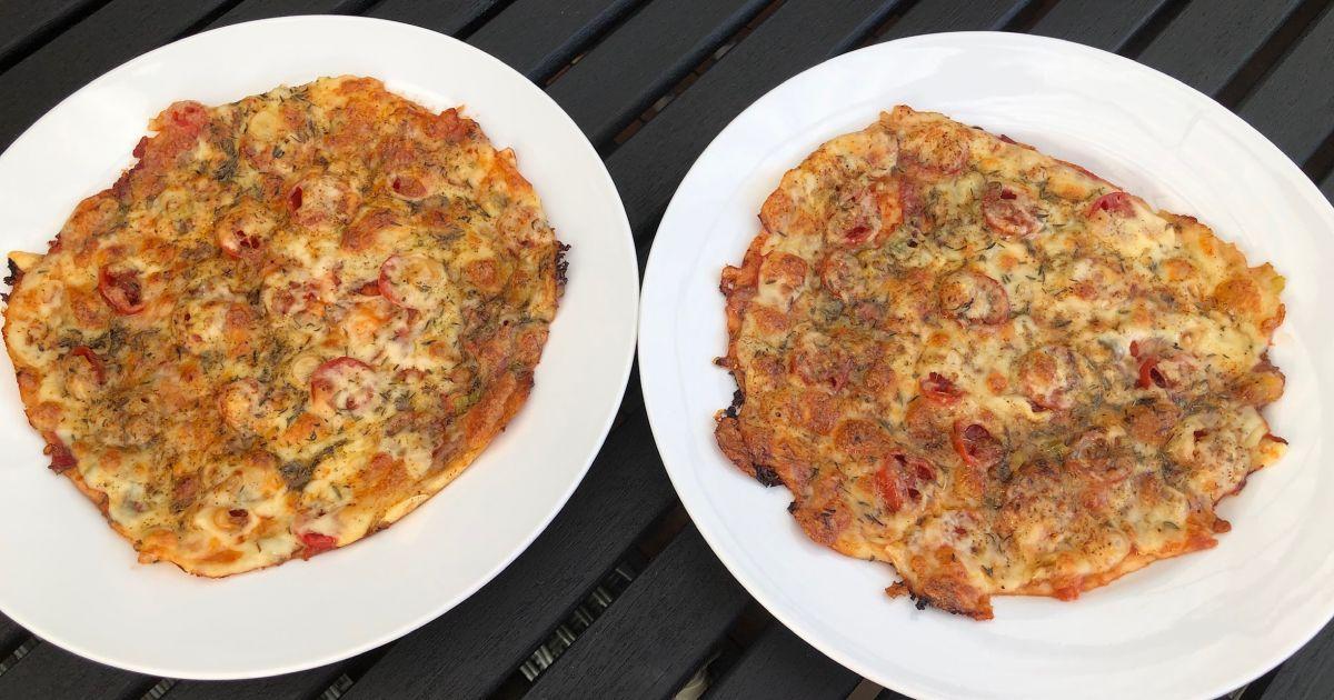 Pizza för latmaskar