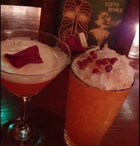 En coctail och en drink