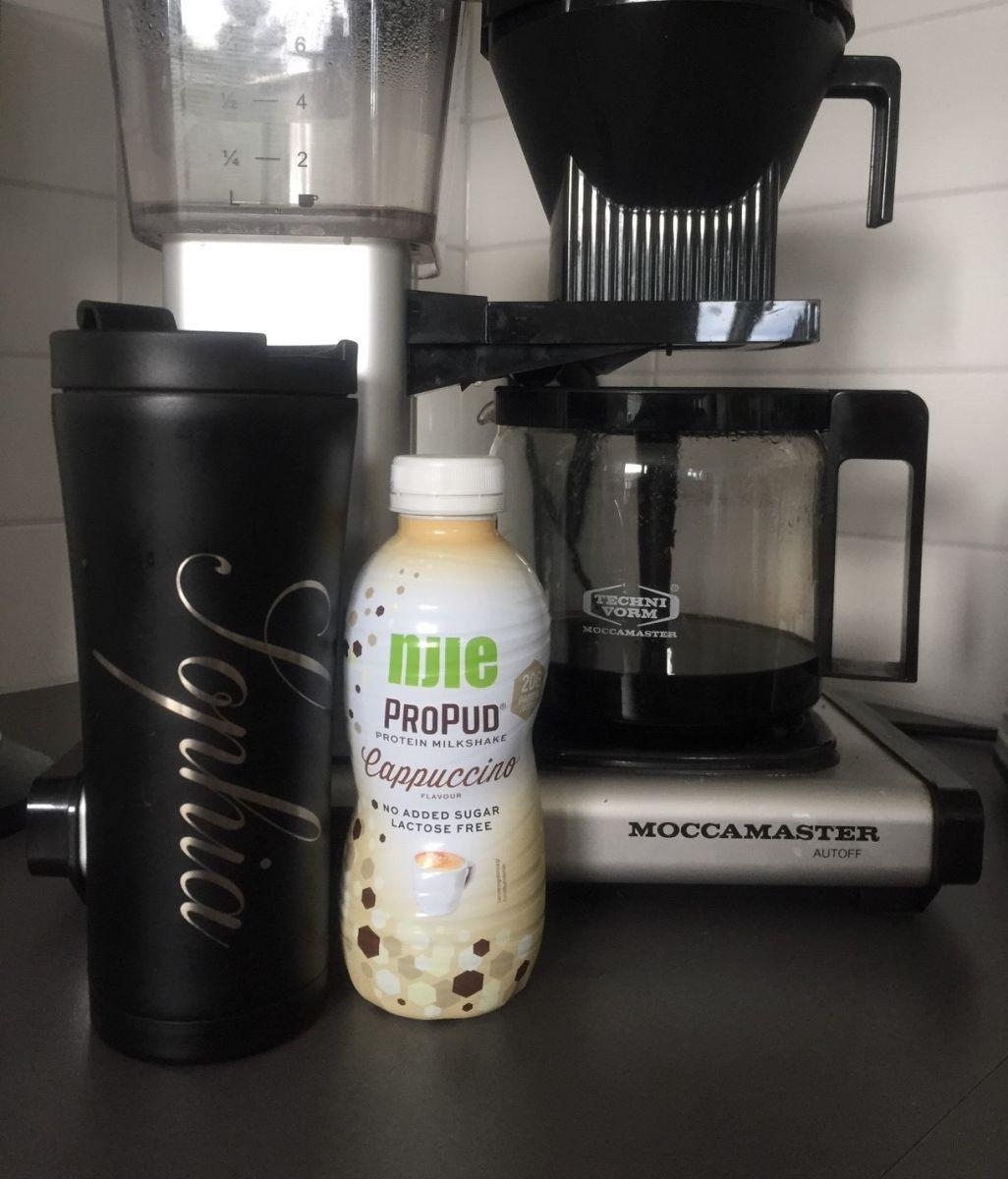 Termosmugg, Njie Proteinmilkshake, kaffebryggare