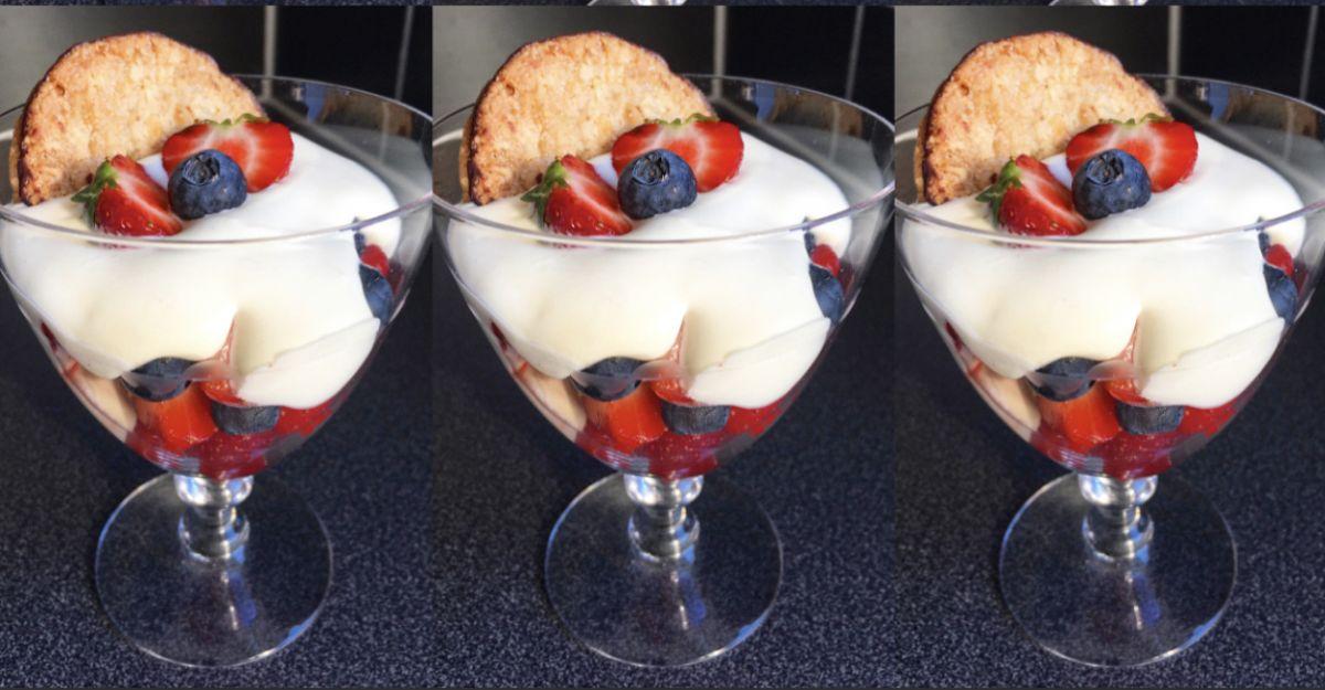 Snabba desserten!