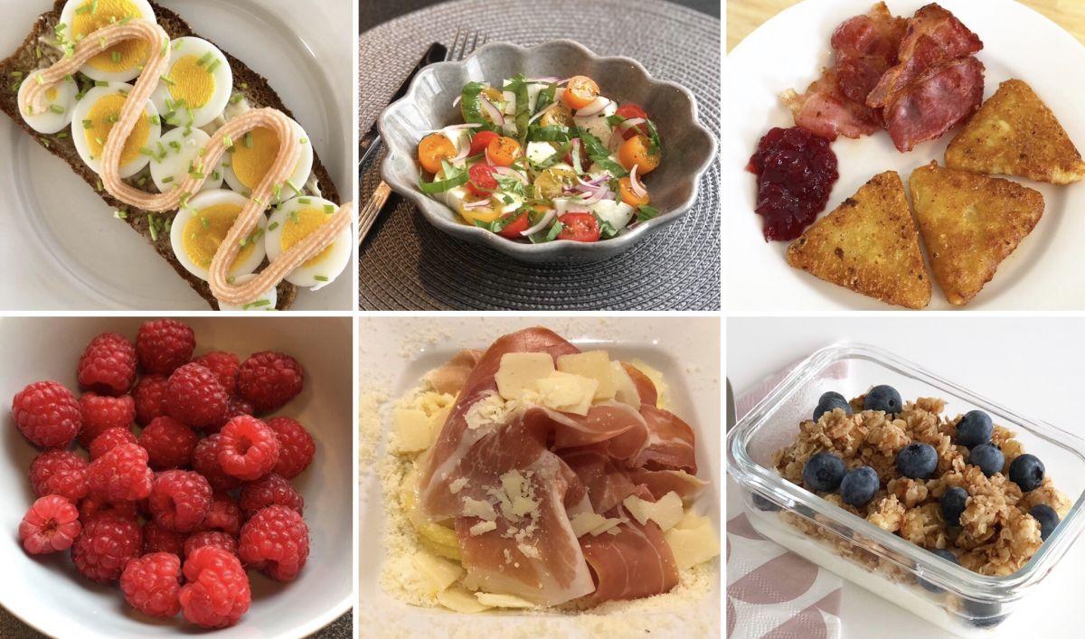 En fredag i matbilder