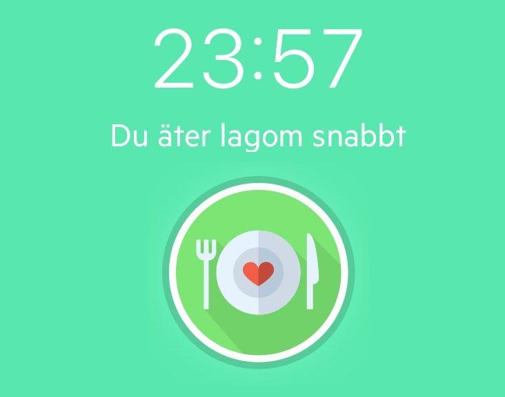 Baribuddy eating speed timer