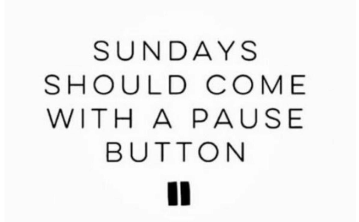 Sköna söndag