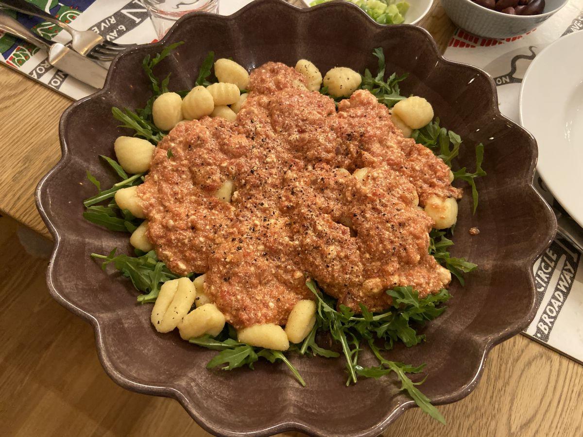 Gnocchi med tomat- och ricottasås
