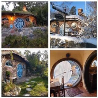 Kollage på Hobbithus