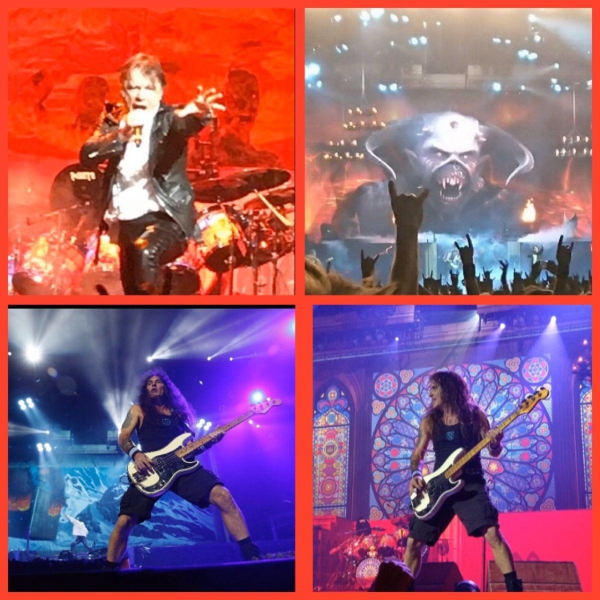 Kollage Iron Maiden