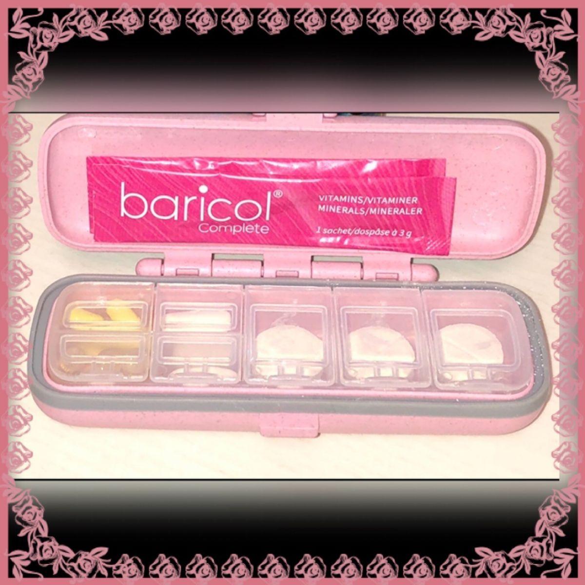 Etui för vitaminer från Baricol