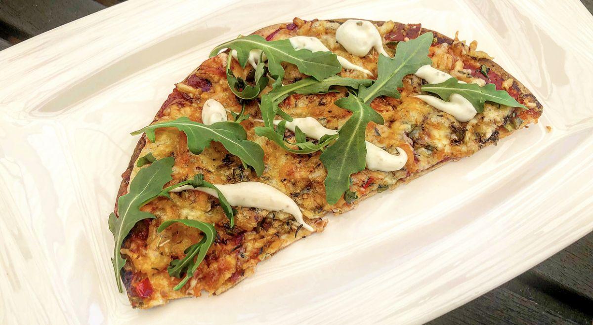 Enklaste och snabbaste pizzan till minimagen