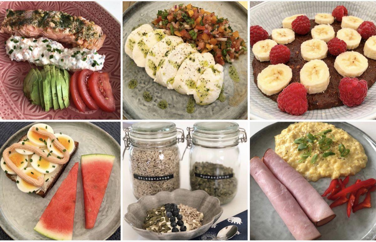 Veckans frukostar och luncher för minimagen
